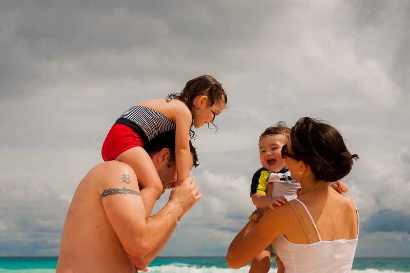 family photography in cancun