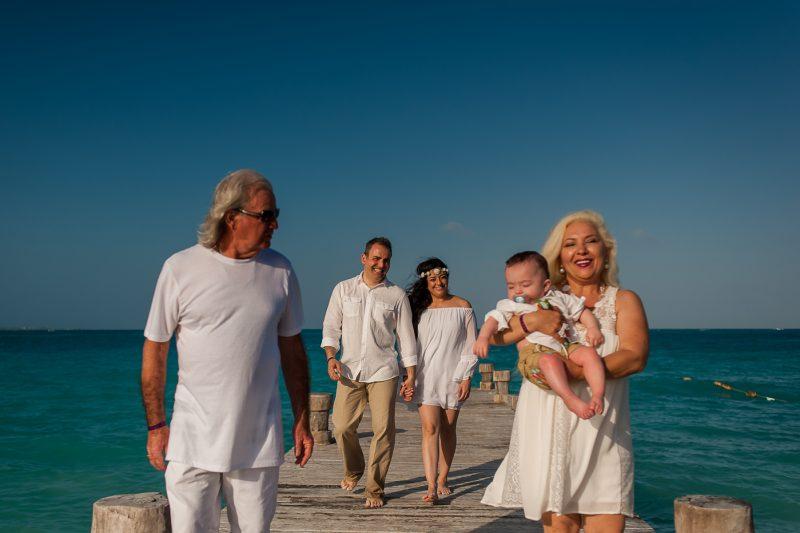 family photo session riu hotel
