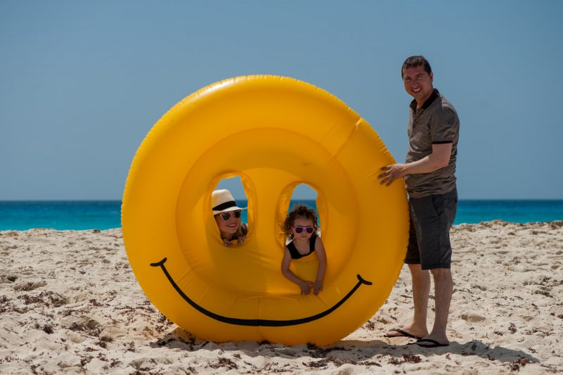Paradissus Cancun Family Photo Session
