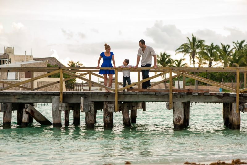 Isla Mujeres Family Photo Session