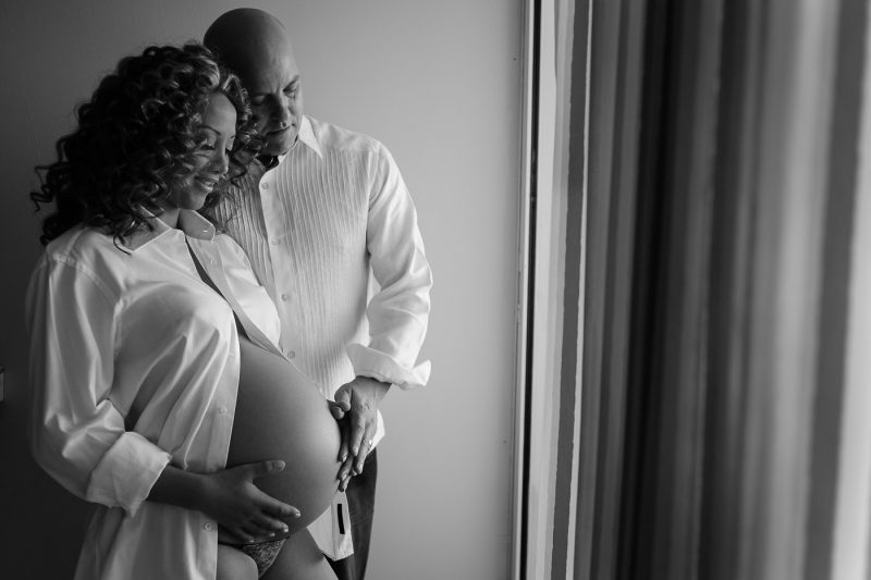 cancun maternity session