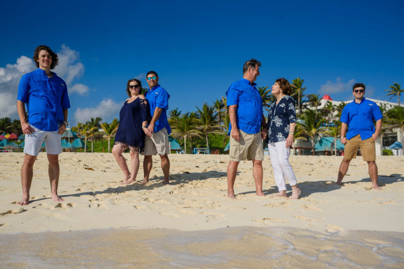 Grand Oasis Cancun Family Photo Session