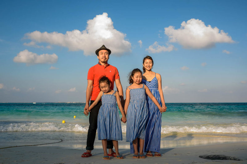 Riu Cancun Family Portraits