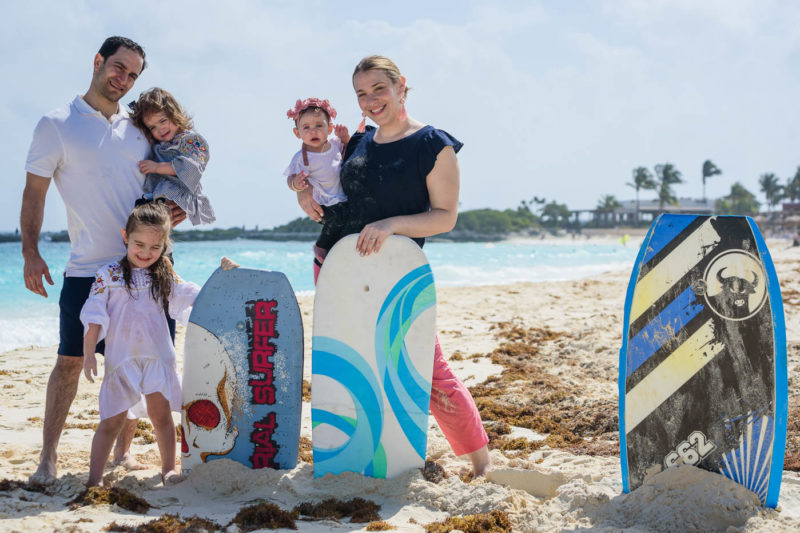 The Westin Resort Cancun Family Session