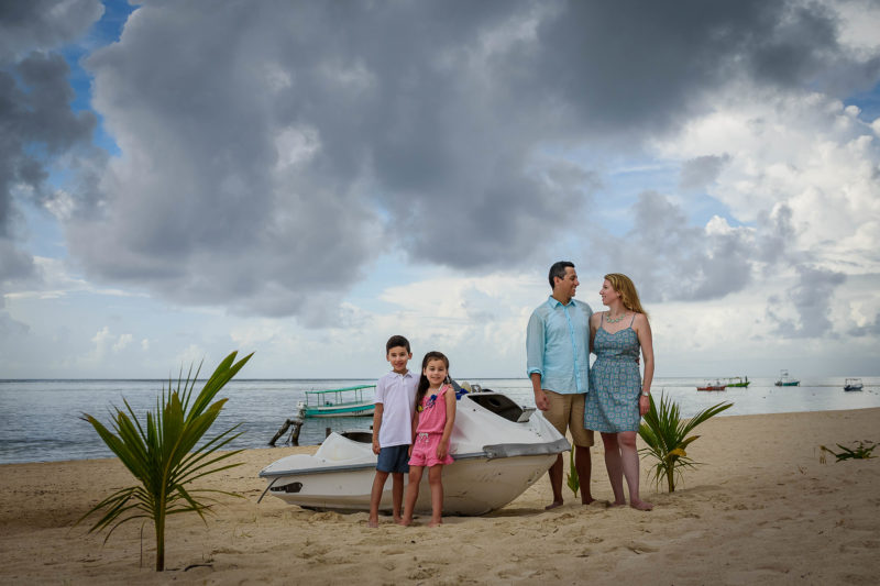 Puerto Morelos Family Photo Session