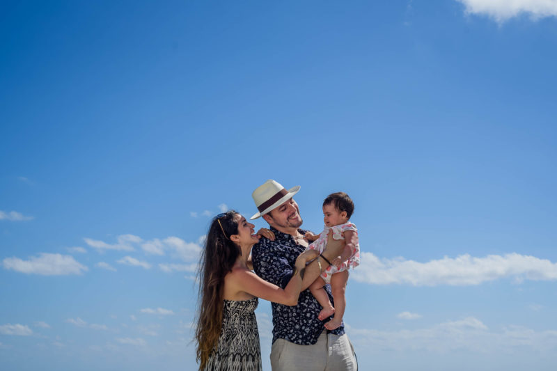 Riu Cancun Family Photo Session