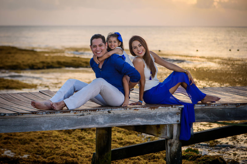 Azul Fives Family Photo Session