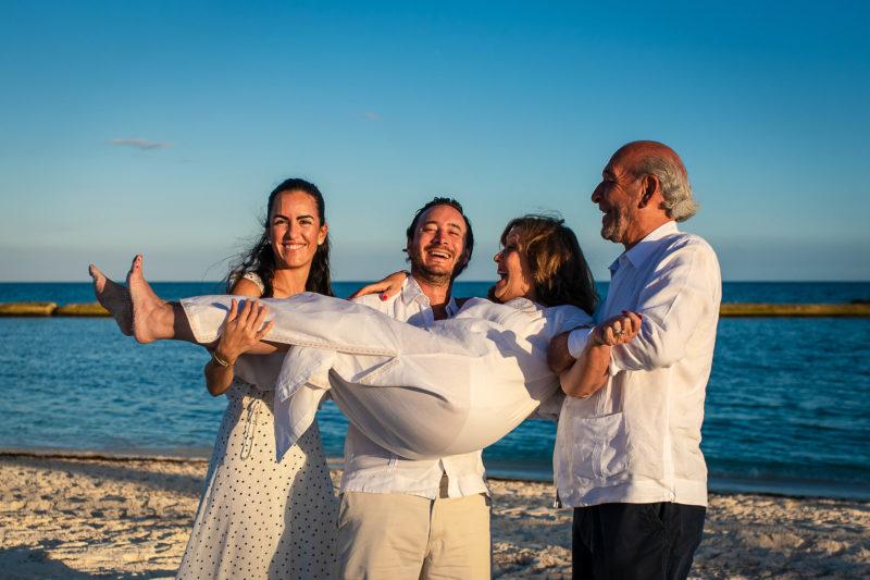Fairmont Maya Coba Hotel Family Session
