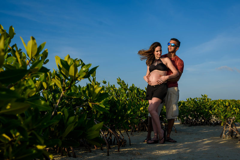 Isla Blanca Pregnant Photo Session