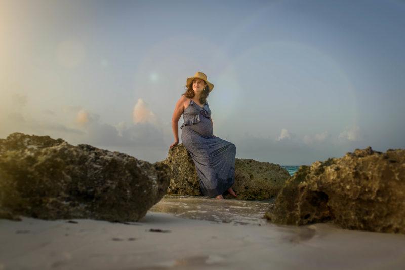 Riu Cancun Maternity Pictures