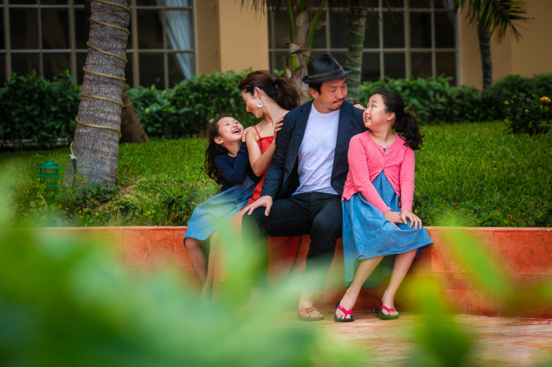 JW Marriot Cancun Family Photo Session