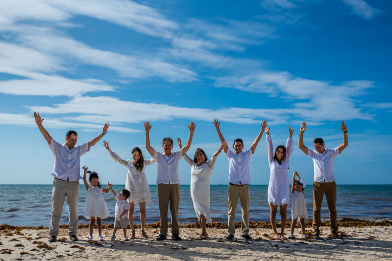 Gran Coral Playa del Carmen Family Photo Session