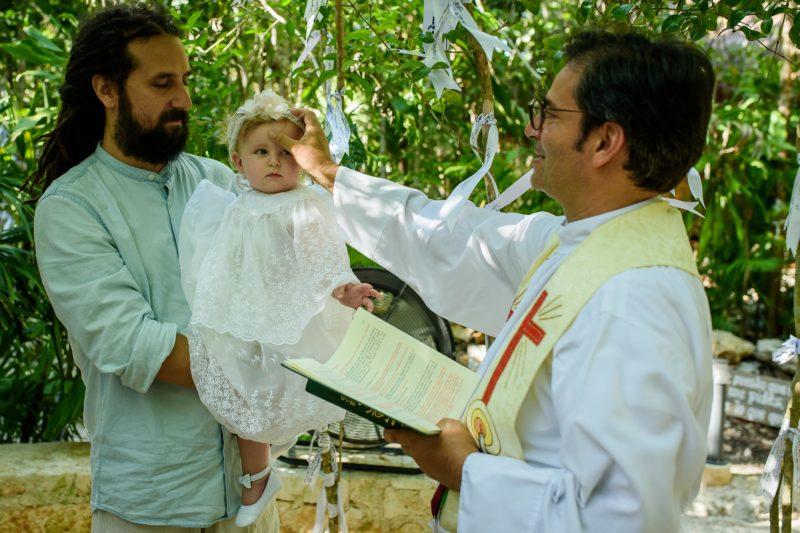 Santuario Maria Desatadora de Nudos Baptism Photos