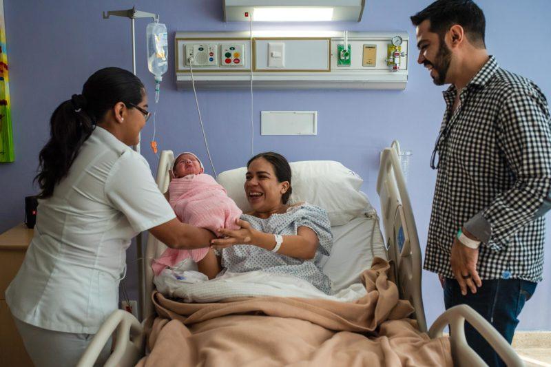 Hospital Galenia Birth Photo Session