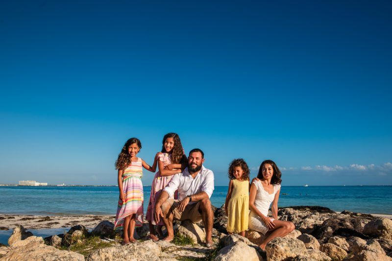 Casa Maya Hotel Family Pictures