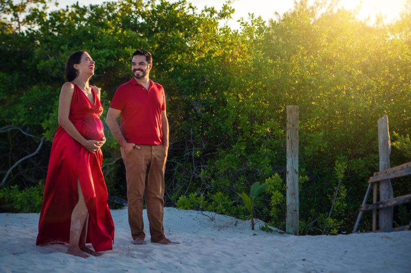 Isla Blanca Pregnant Session
